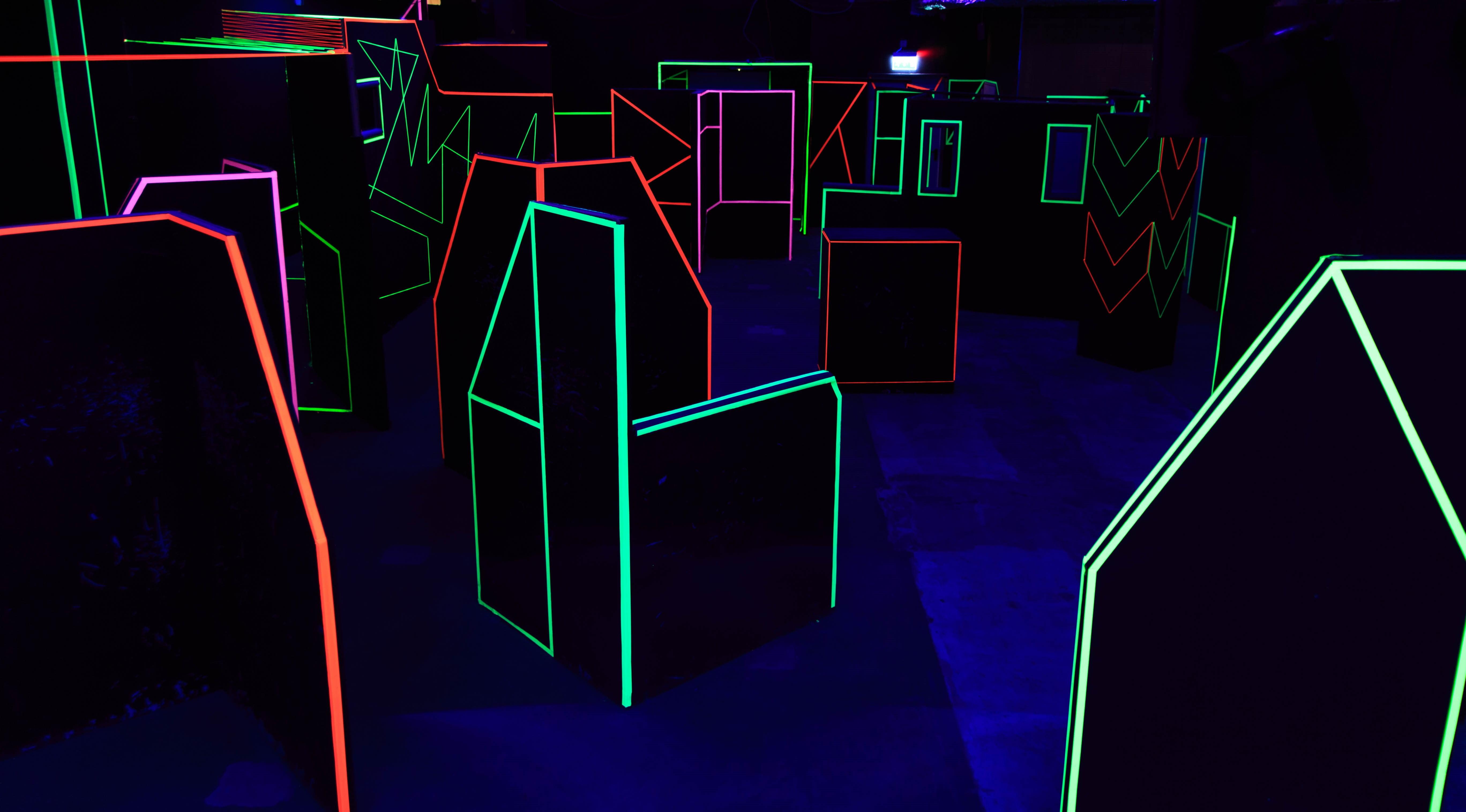 Lasertag erleben…